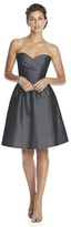 Alfred Sung D542 Bridesmaid Dress in Ebony