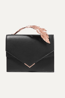 Ralph & Russo - Alina Leather Clutch - Black