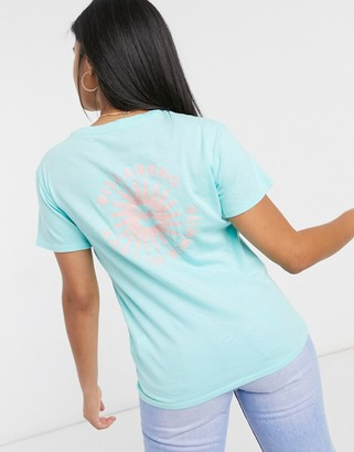 Billabong Summer Of Love T-shirt in turquoise