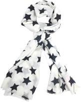 Lulu and Nat Black Star Scarf