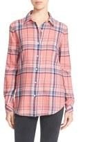 Elizabeth and James Women's 'Rowan' Flannel Shirt