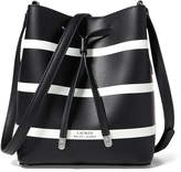 Ralph Lauren Stripe Debby II Drawstring Bag