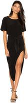 Norma Kamali Short Sleeve Diaper Dress