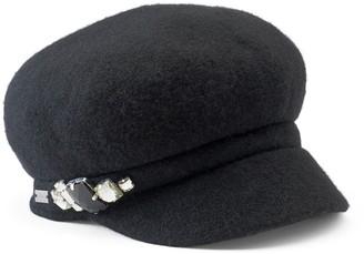 Betmar Women's Rhinestone Cadet Hat
