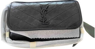 Saint Laurent Black Leather Handbags