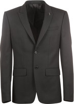 Givenchy Black Single Breasted Jacket