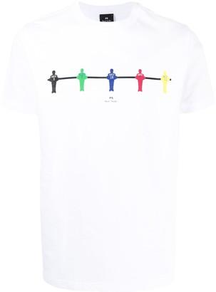 Paul Smith Tabletop Football organic cotton T-shirt