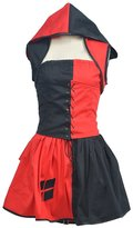 LYLAS Cosplay Costume Women's Hallween black Dress