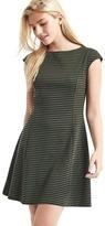 Gap Cap sleeve fit & flare dress
