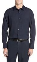 Robert Barakett Men's Jackson Flannel Sport Shirt
