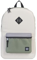 Herschel Men's Settlement Backpack - White