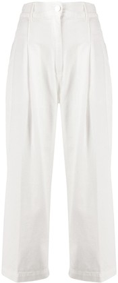 Pinko High-Waist Cropped Trousers