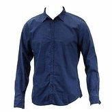Calvin Klein Jeans Men's Crosshatch Blotch Shirt