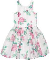 Nanette Lepore Floral-Print Jacquard Dress, Big Girls (7-16)