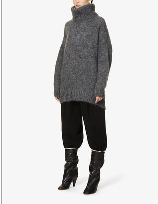 Isabel Marant Eva oversized mohair-blend jumper