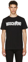 Moschino Black Transformers Logo T-shirt
