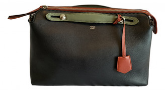 Fendi By The Way Navy Leather Handbags
