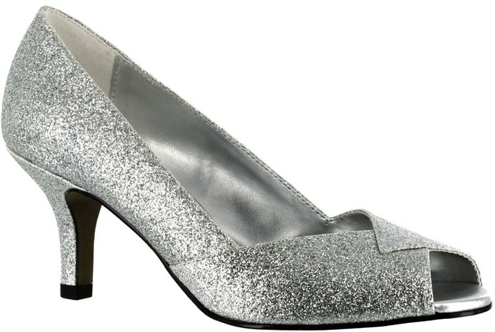 7fbe8775fe800 Wide Glitter Shoes - ShopStyle