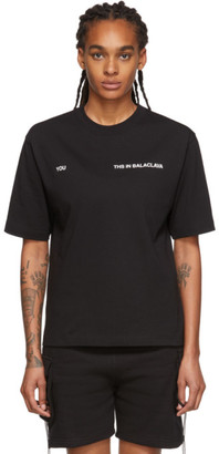 Youths in Balaclava Black You T-Shirt