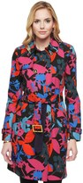 Juicy Couture Matisse Floral Trench Coat