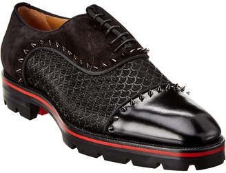 Christian Louboutin Champignac Leather & Suede Oxford