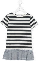 Douuod Kids - striped T-shirt dress - kids - Cotton - 2 yrs