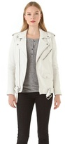 BLK DNM Motorcycle Leather Jacket