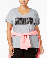 Material Girl Active Plus Size Graphic T-Shirt, Only at Macy's