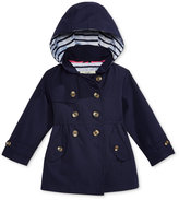 Osh Kosh Hooded Fit & Flare Trench Coat, Little Girls (2-6X)