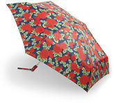 Fulton Compact Open and Close Roses Umbrella
