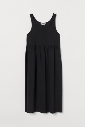 H&M MAMA Cotton Jersey Dress