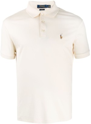 Polo Ralph Lauren Logo-Embroidered Fitted Polo Shirt