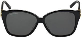 Balenciaga 0081s Dynasty Squared Acetate Sunglasses