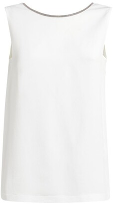 Fabiana Filippi Chain-Detail Sleeveless Top