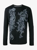 Ann Demeulemeester Printed Long Sleeve T-shirt