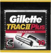 Gillette TRAC II Plus Razor Blade Refill Cartridges - 10 Count