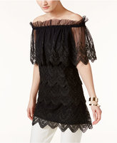 Alfani PRIMA Off-The-Shoulder Top, Created for Macy's