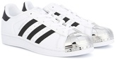 adidas Superstar metal toe sneakers