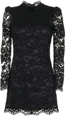 LIKELY Cupani cotton lace mini dress