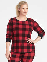Old Navy Relaxed Plus-Size Waffle-Knit Top