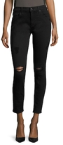 7 For All Mankind Gwenevere Squiggle Distressed Skinny Jean