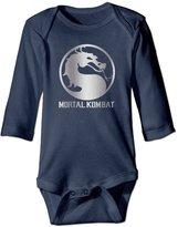 Iannn Infant Mortal Kombat Platinum Style Romper Jumpsuit Bodysuit