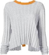 Derek Lam 10 Crosby trapeze hem sweater - women - Cashmere/Merino - XS