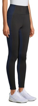 Avia Women's Flex-Tech Active Compression Leggings with Side Detail