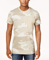American Rag Men's Washed-Out Camo-Print T-Shirt, Created for Macy's