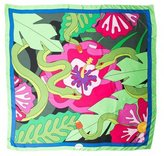 Yazbukey Silk Abstract Print Scarf