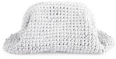 Bottega Veneta Medium The Pouch Crochet Leather Clutch