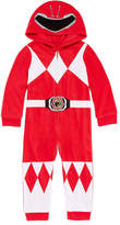 Power Rangers Boys Sleepwear Long Sleeve Footed Pajamas-Toddler Boys