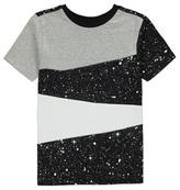 George Panelled Splatter T-Shirt
