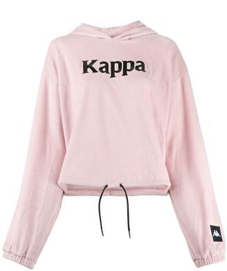 Kappa Drawstring Logo Hoodie